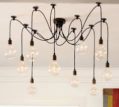Pottery Barn Ceiling Light Pottery Barn Bulb Edison Chandelier Chandelier Shmandelier And