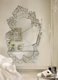 Tri Fold Bathroom Wall Mirror by Interior Venetian Mirror Decorative Mirrors For Bathrooms