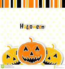 template halloween greeting card vector stock photo image 26568060