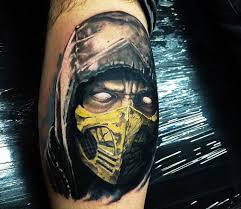 mortal kombat tattoo by jake ross tattoos photo no 16821