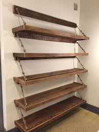 How To Make Wooden Shelving Units by Best 25 Reclaimed Wood Shelves Ideas On Pinterest Diy Wood