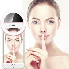 Light For Phone Camera Photography Selfie Portable Led Ring Fill Light For Phone