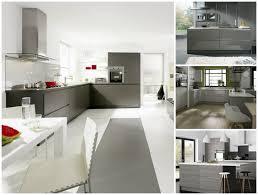 cuisine design moderne cuisine grise de design moderne 25 idées de décoration