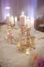 Wedding Candle Holders Centerpieces by Candle Wedding Centerpiece Purple And Greenery Centerpiece Simple