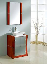 Chrome Bathroom Vanity by Bathroom Monochrome 24 Bathroom Vanity With Vessel Sink And