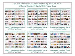 Test Of Genius Worksheet Answers Final Consonant Clusters Mp Nd Ld Rd Sk Rk 6 Worksheet Bundle By