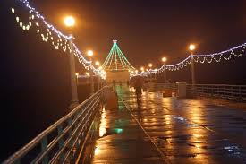 manhattan beach pier lighting 2017 pier tree in the rain diane garrett