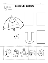 all worksheets letter u worksheets for pre k free printable
