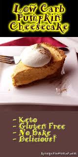 lowcarb thanksgiving dessert recipe no bake pumpkin cheesecake