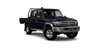 new toyota landcruiser 70 gxl double cab cab chassis in stock at