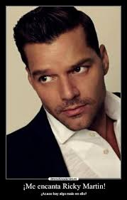 Ricky Martin Meme - me encanta ricky martin desmotivaciones