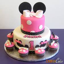 1st minnie mouse ears birthday cake cmny cakes