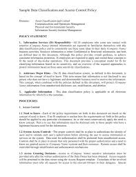 business policy company policy template online professional resume