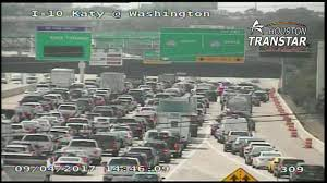 Houston Transtar Traffic Map Big Rig Crash Closed Katy Freeway At 610 Interchange Now Reopen