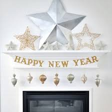 diy new years eve glitter banner by holly jones project home