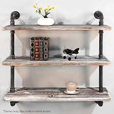 diwhy shelves industrial shelf with pipe