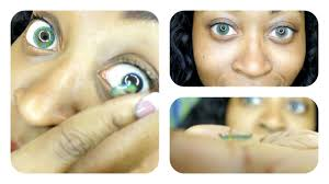 how to put on color contacts lenses for beginners step by step hd