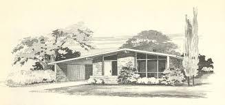 Vintage Home Plans Vintage House Plans 1808 Antique Alter Ego Mid Century De Luxihome
