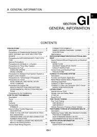 2005 nissan x trail general information section gi pdf manual