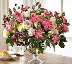 silk flower arrangements ideas silk orchid bamboo arrangement at