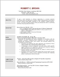 sample cfo resumes orthodontist resume dalarcon com resume objective examples cover letter