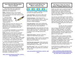 Sample Resume Teenager by Home Design Ideas Teen Resume Examples Berathencom 12 Teenage