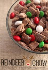 reindeer chow recipe holidays snacks and food