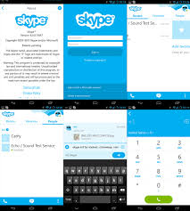 skype for android tablet apk skype 4 0 for android review new style optimized for im