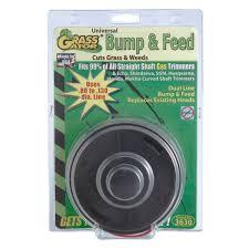 grass gator universal bump u0026 feed replacement trimmer head 3630