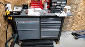 replaced old cabinet with husky 52