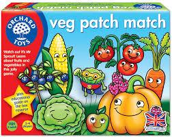orchard toys veg patch match game amazon co uk toys u0026 games