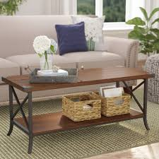 Modern Cheap Coffee Tables 40 Ideas Of Modern Small Wicker Coffee Tables Wayfair