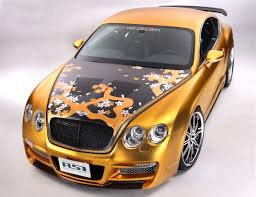 bentley car gold asi u0027s 800 000 bentley continental gt based tetsu gtr