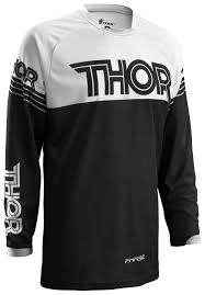 white motocross gear thor phase hyperion jersey revzilla