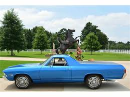 New Chevrolet El Camino 1968 Chevrolet El Camino For Sale On Classiccars Com 15 Available