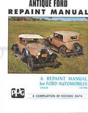 ford model a manual ebay