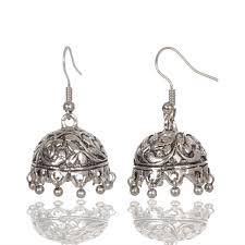 jhumki earring earrings shop online oxidized jhumka jhumki earrings at best