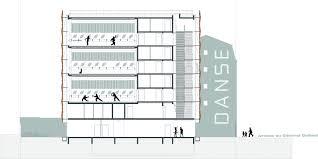 dance floor plan gallery of dance aurélie dupont lankry architectes 18