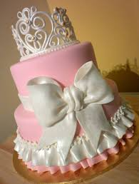 princess cake for a baby princess baby shower cakes pink