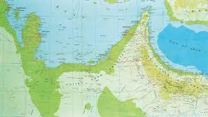 United Arab Emirates Map Christo J C