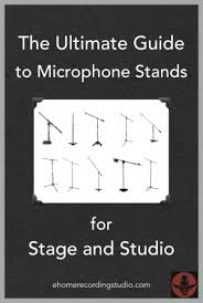 microphone stands 101 the ultimate beginner u0027s guide