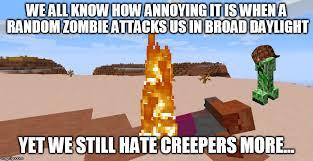 Creeper Meme Generator - creepers zombies imgflip