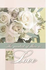 Wedding Program Covers Wedding Program Covers Love Is Patient Love Is Kind Love Never