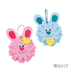 bunny ornament craft kit