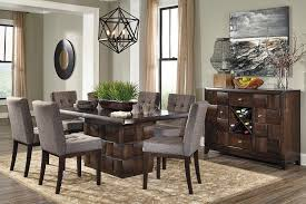 dining room sets for 8 dining room sets for 8 contemporary set brown wood gray