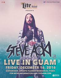 best of steve aoki announcing the edm event in guam s history tropical