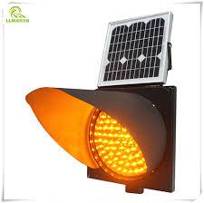 Solar Traffic Light - led traffic light red yellow and green lane warning light