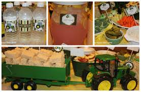 John Deere Home Decor by John Deere Tractor Birthday Party Food Games Favors U0026 More