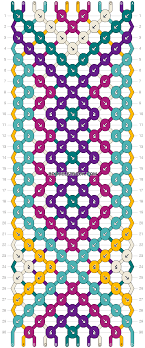 bracelet pattern images Normal friendship bracelet pattern 4242 png