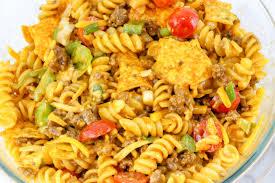 doritos taco pasta salad